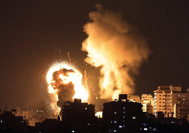 Decenas de muertos y heridos dejan ataques en la Franja de Gaza; se han lanzado más de 100 cohetes