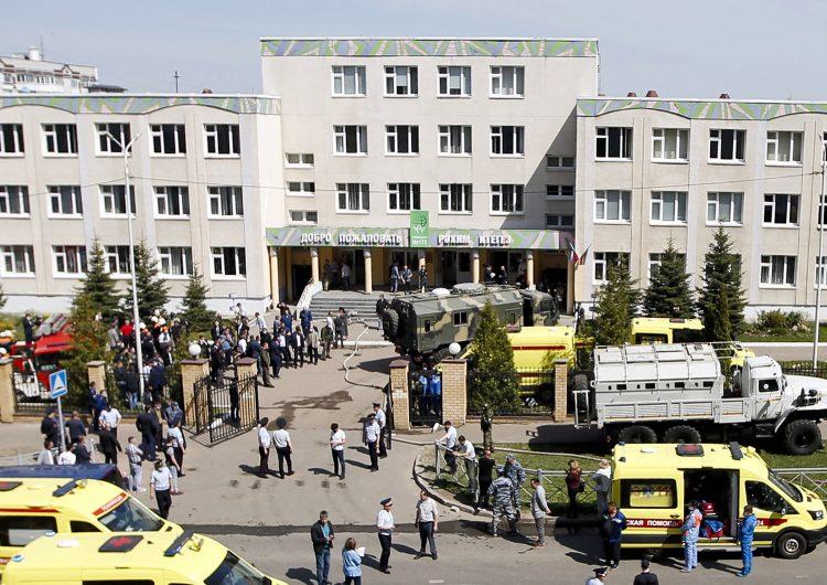 Rusia: al menos 7 niños mueren en tiroteo dentro de una escuela; un joven de 19 años fue detenido