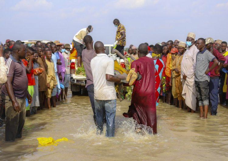 Al menos 46 muertos tras un naufragio en el noroeste de Nigeria
