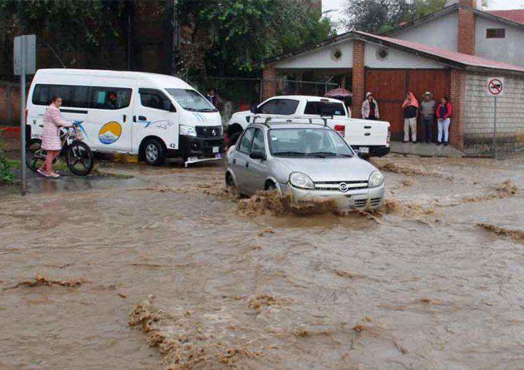 Temporal de lluvia afectó a 14 municipios poblanos