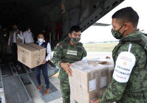 Llegan más vacunas a Yucatán
