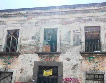 En Puebla, 600 familias en riesgo por temporada de lluvias y 60 casonas en ruinas