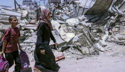 58 niños palestinos y 2 israelíes han muerto tras el…