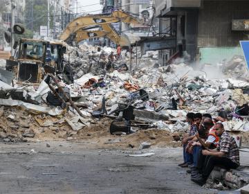 Bombardeos israelíes en Gaza matan a más de 40 palestinos; es la cifra más alta de víctimas en un día