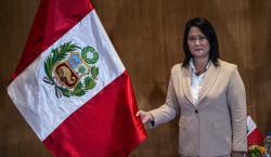 Juez niega permiso para salir de Perú a la candidata…