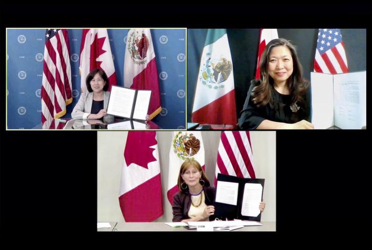 EU exige a México y Canadá cumplir con términos del T-MEC y que prioricen a los trabajadores