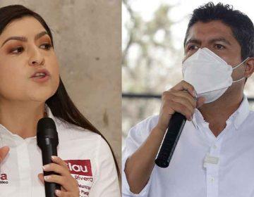 Claudia Rivera y Eduardo Rivera confirmaron asistencia a debate por la alcaldía