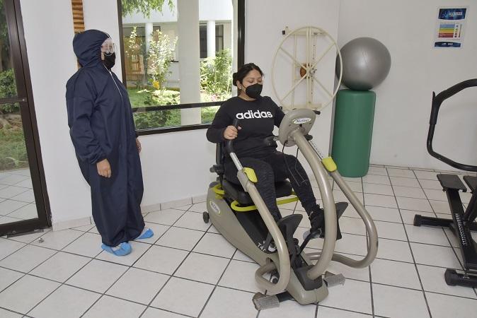 Ofrece DIF Estatal atención personalizada de rehabilitación pulmonar