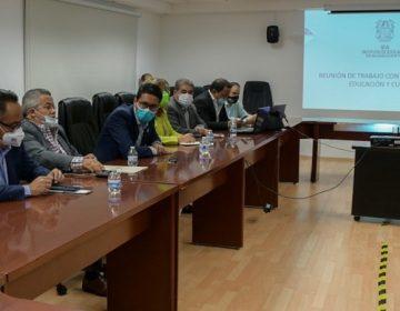 Presentan protocolo sanitario de regreso a clases ante diputados de Aguascalientes