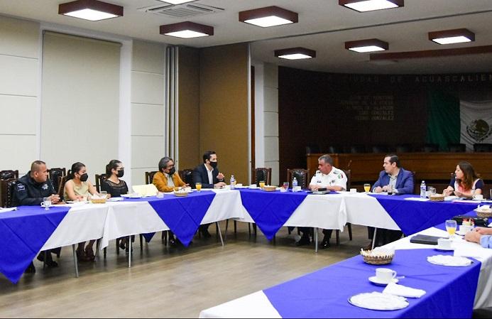 Participa municipio de Aguascalientes en reunión de seguridad para la jornada electoral