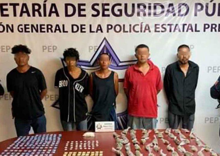 Caen seis integrantes de Los Rojos en la Mixteca de Puebla