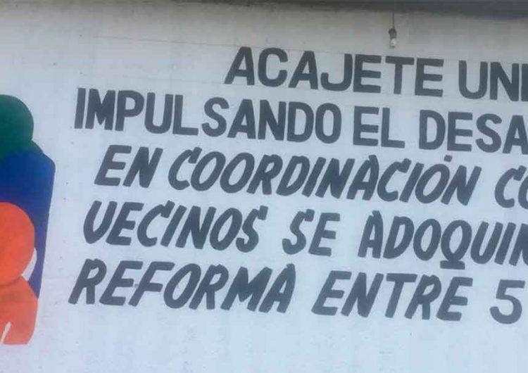 Edil de Acajete y el candidato de Morena realiza negocio mediante Fundación