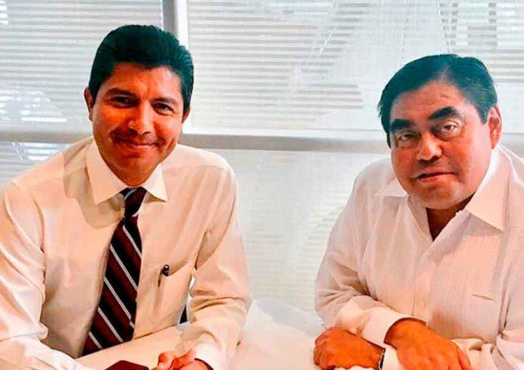 """PES acusa """"amasiato político"""" entre Eduardo Rivera y Miguel Barbosa"""