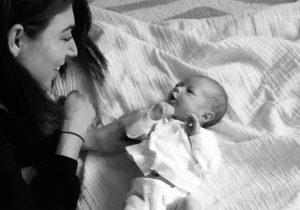 'Mi trastorno alimenticio convirtió mi embarazo en horrible'