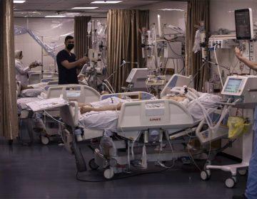 Los heridos en Gaza desbordan las camas de hospital para pacientes de covid-19