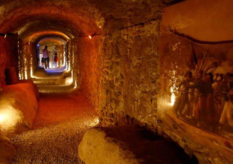 Encuentran más túneles en el centro histórico de Puebla