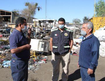 Verifica Protección Civil Municipal operación de recicladoras en Aguascalientes