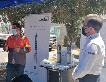 Recibe Veolia Aguascalientes 50 bombas hidráulicas de alta tecnología