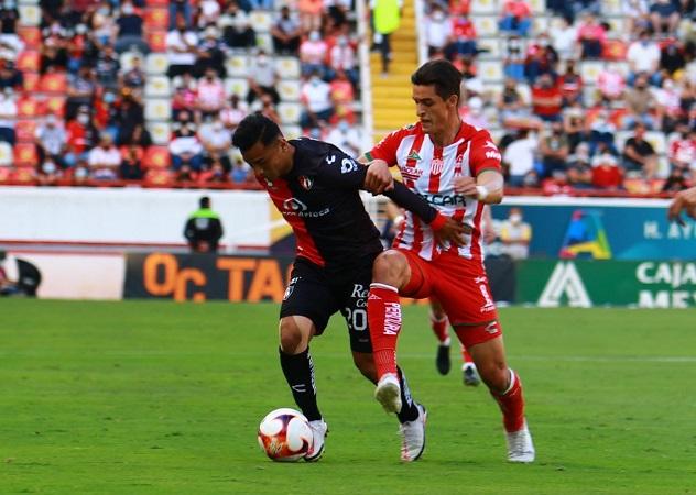 Atlas golea a Necaxa en último partido del torneo