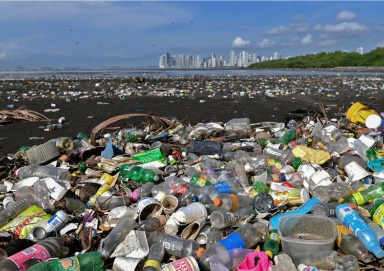 Más de la mitad del desecho mundial de plástico es creado por 20 compañías