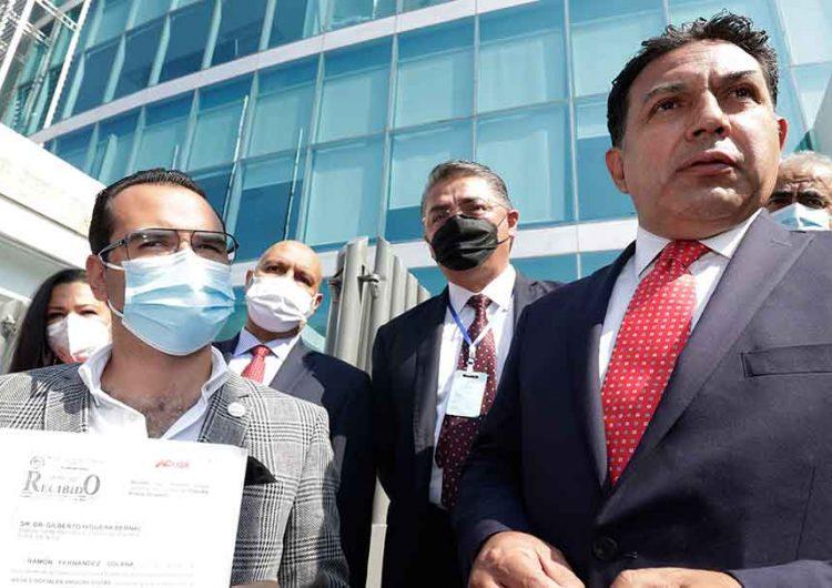 RSP denuncia a la candidata a la alcaldía de Puebla, Claudia Rivera, por peculado