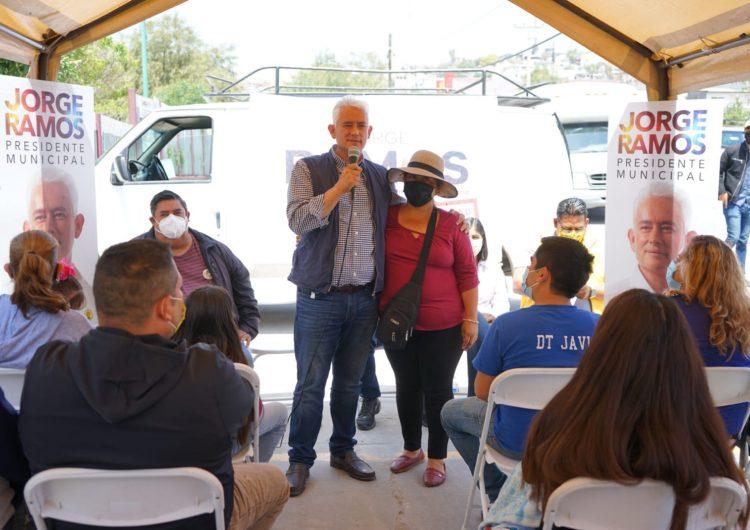 Promete Ramos seguridad y desarrollar Tijuana ante colonos de La Morita