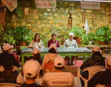 Sector de burócratas se suma a Montserrat Caballero
