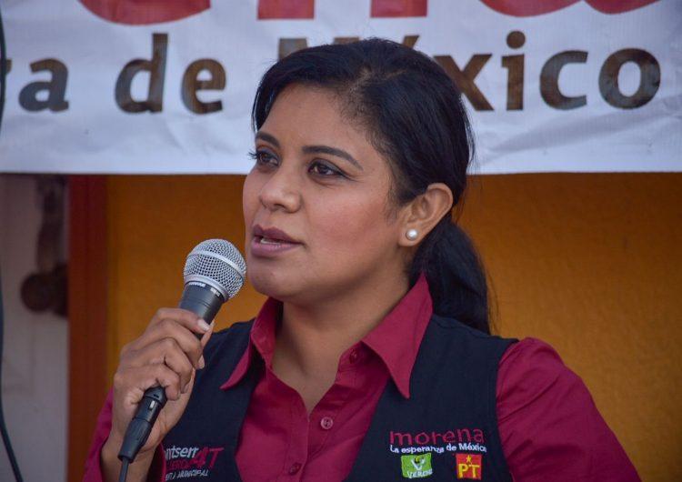 Tres encuestas colocan a Montserrat Caballero a la cabeza