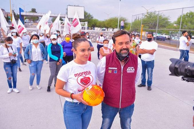 Fomentará Arturo Ávila comités vecinales para proyectos sociales