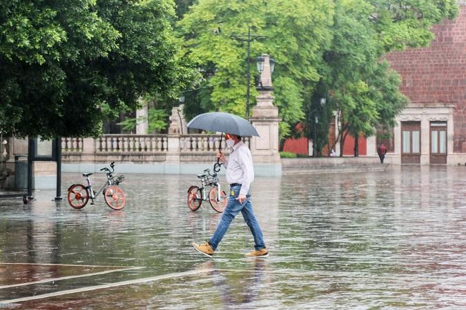 Se pronostican lluvias para Aguascalientes en los próximos cuatro días