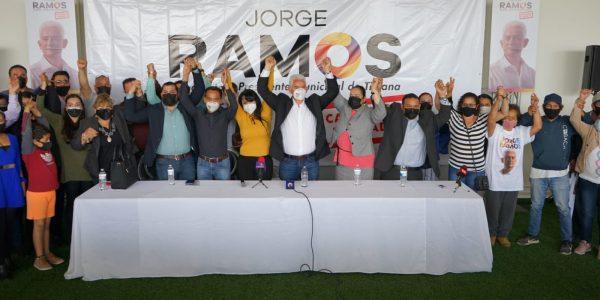 Líderes de Morena se suman a campaña de Jorge Ramos