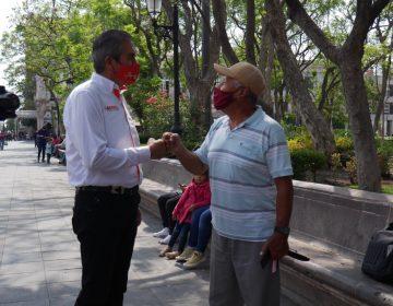 """Crece preferencia electoral para Gabriel Arellano en las encuestas por su propuesta """"Veolia se va"""""""