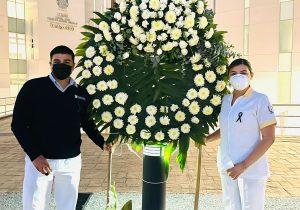 Universidad Cuauhtémoc en conjunto con el  Centenario Hospital Miguel Hidalgo rinde homenaje a personal de enfermería.