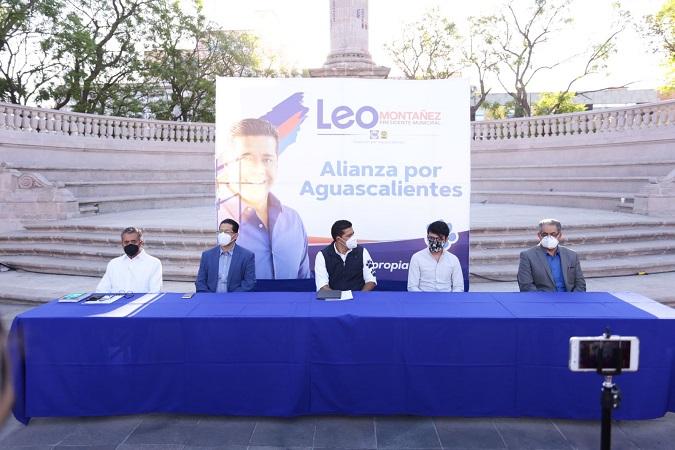 Firma Leo Montañez alianza estratégica para un municipio sobresaliente