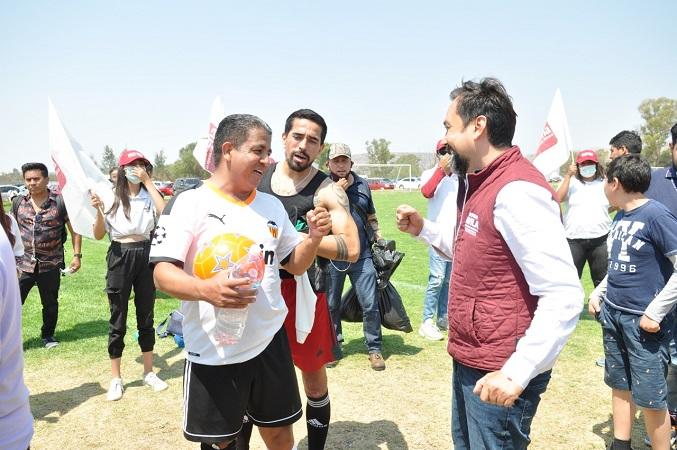 Se compromete Arturo Ávila a apoyar al deporte local en Aguascalientes