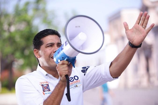 Lleva Leo Montañez sus propuestas a todos los rincones de Aguascalientes