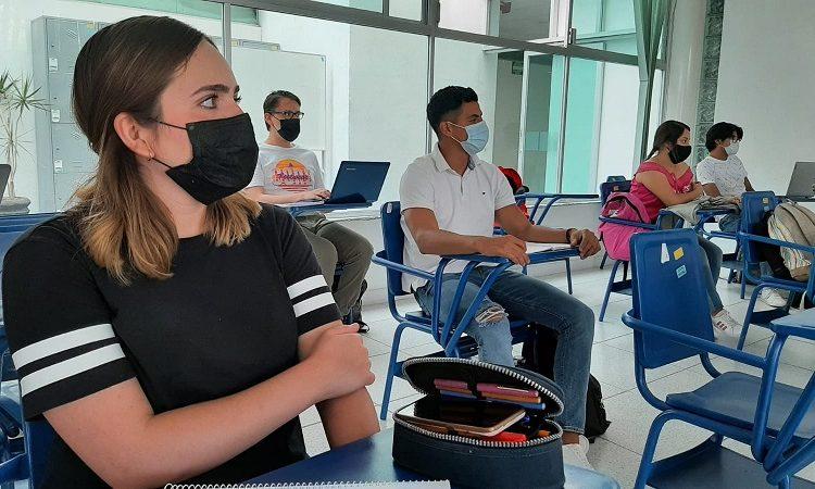 Regresan universidades de Aguascalientes a clases presenciales con aforo reducido