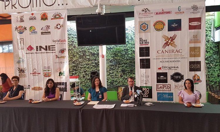 Habrá obsequios y descuentos en restaurantes de Aguascalientes por salir a votar
