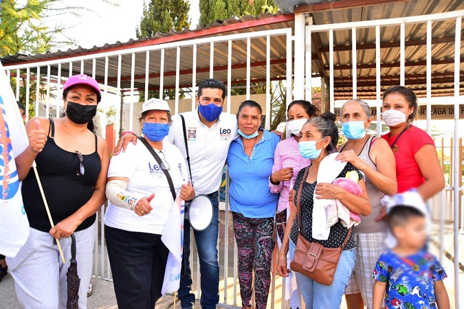 Atenderá Leo Montañez las necesidades de la ciudadanía de forma directa