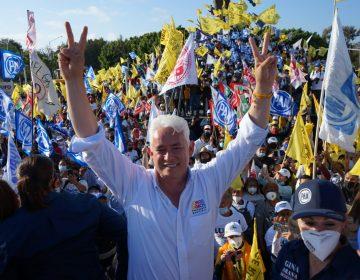 Cierra campaña Jorge Ramos con evento masivo en la glorieta Cuauhtémoc