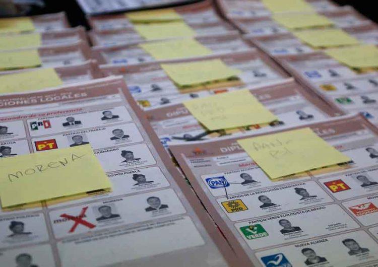 TOMA NOTA, IEE te dice cómo votar por candidatos que van en alianza en Puebla