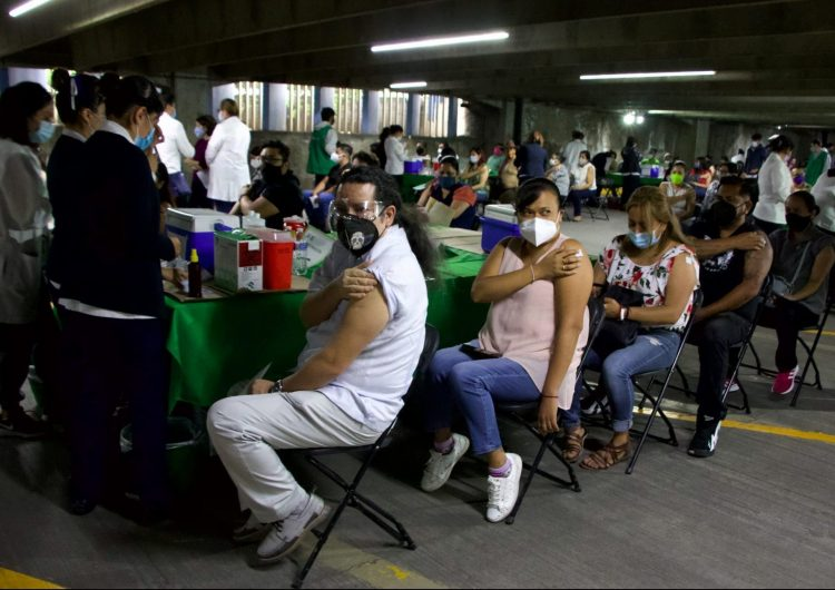 En México se han aplicado 10,838,217 esquemas completos de vacunación