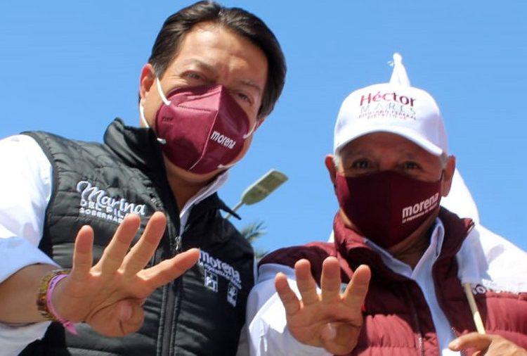 Participa Héctor Mares evaluando campaña con Mario Delgado