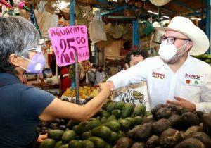 No se demolerá el mercado Domingo Arenas de Texmelucan, señala Mauricio Toledo