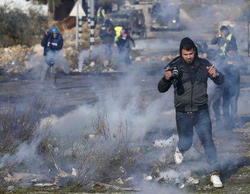 Periodistas palestinos exigen a la ONU protección por violencia durante manifestaciones