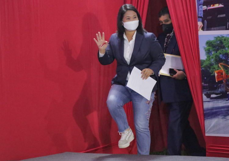 Perú: fiscal anticorrupción pide prisión preventiva para la candidata presidencial Keiko Fujimori