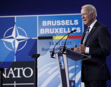 Biden se compromete ante OTAN a advertir a Putin sobre 'líneas rojas' que no debe cruzar