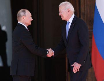 'Siempre es mejor verse cara a cara', la primera frase de Biden a Putin durante su encuentro