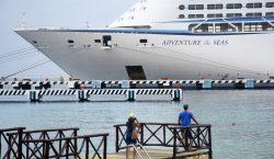 Cozumel recibe con mariachis al primer crucero tras 15 meses…
