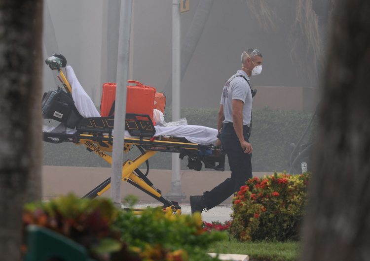 Biden declara 'emergencia' por derrumbe en Florida; suman 159 desaparecidos y 4 muertos